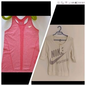 🍒BOGO Nike top and tank size S